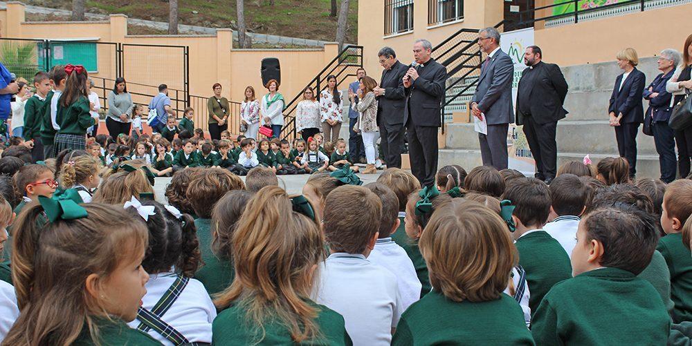 Obispo Malaga visita